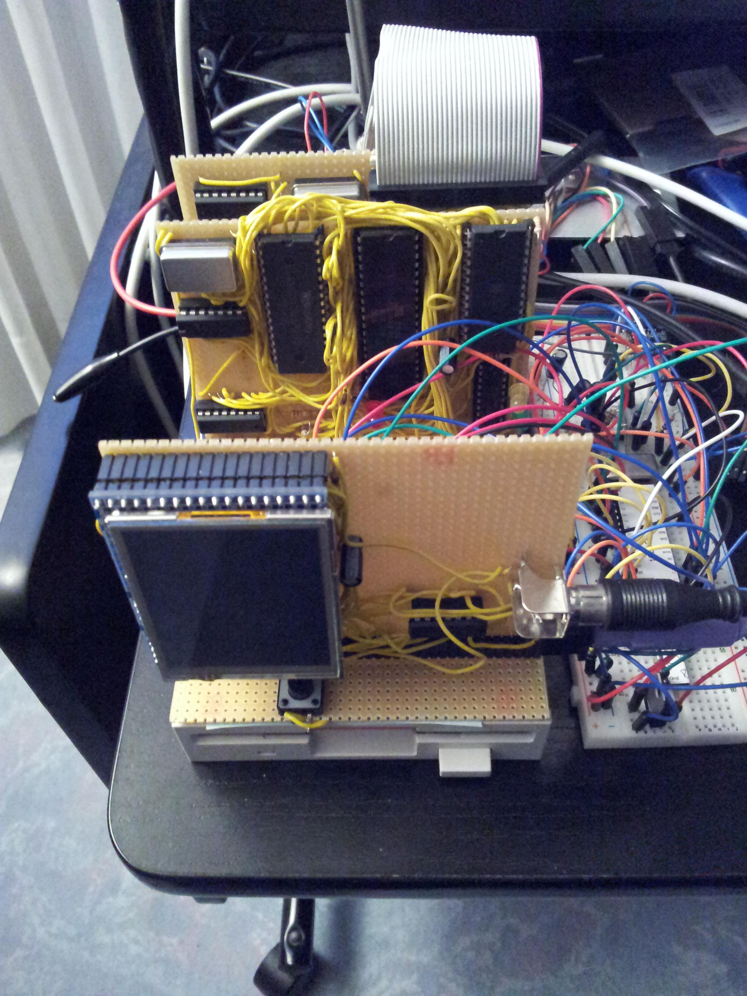 Z80 work in progress   Olli's